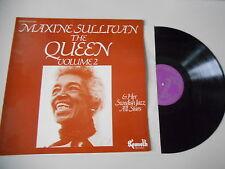 LP Jazz Maxine Sullivan - The Queen : Volume 2 (11 Song) KENNETH REC