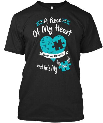 Mon père est un morceau de cœur-Vies au Ciel et il est Standard Unisexe T-Shirt