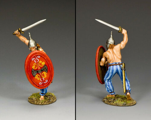 KING /& COUNTRY ROMAN EMPIRE RNB030 GALLIC WARRIOR VICTORY MIB