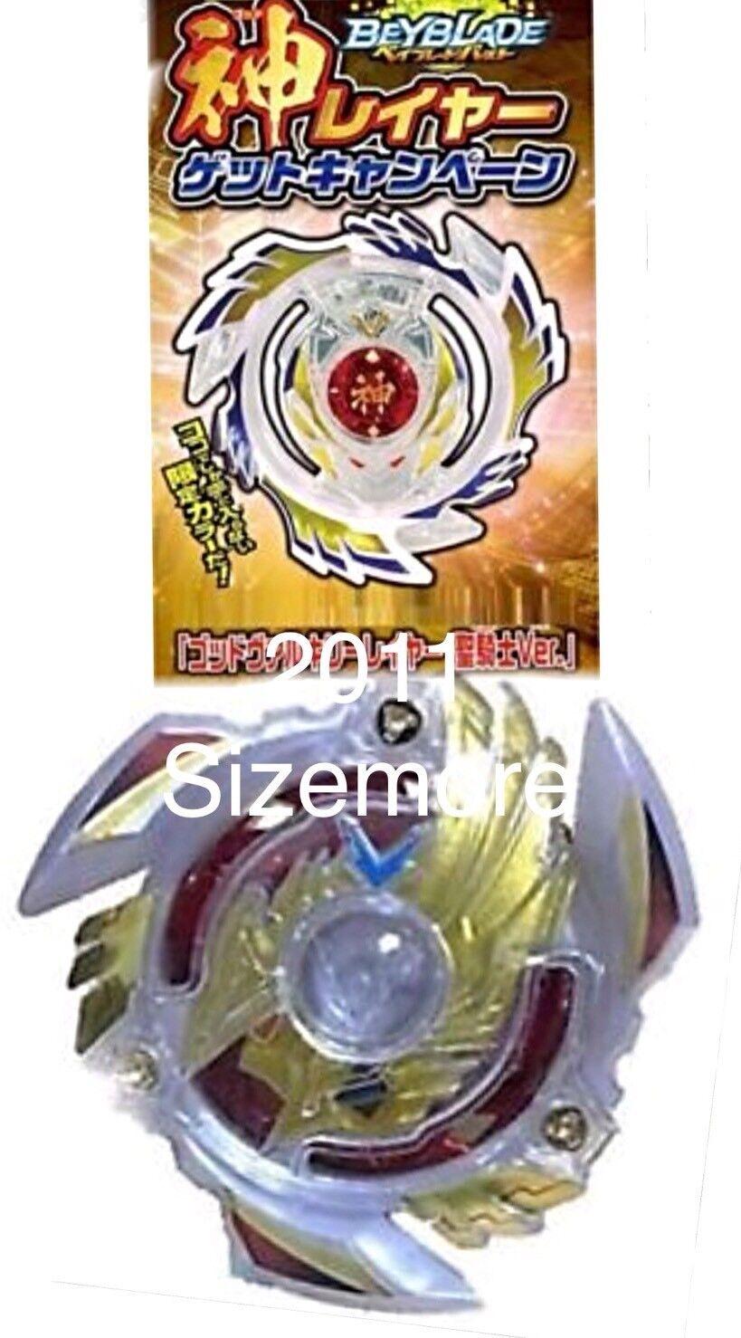 Takara Beyblade Burst Holy Knight God Valkyrie Layer + Legend God Genesis V Bey