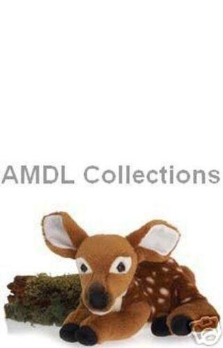 "Nouveau couché Fawn Deer 10/"" Plush Stuffed Animal Toy"