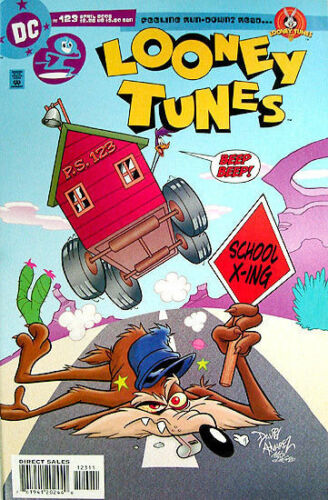 LOONEY TUNES Comic # 123 ROAD RUNNER /& WILE E COYOTE