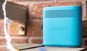 Aquatic Blue BOSE Soundlink Color II Portable Bluetooth Wireless Speaker