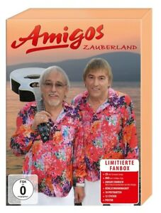 AMIGOS-ZAUBERLAND-LIMITIERTE-FANBOX-CD-DVD-NEU
