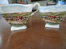Royal Winton GRIMWADES STE. MARIE BEAUCE, QUEBEC, CANADA Cream and Sugar Set