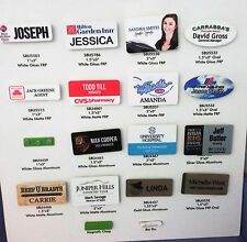 15 X3 Personalized Name Tag Badge Pin Customized Full Color Printing
