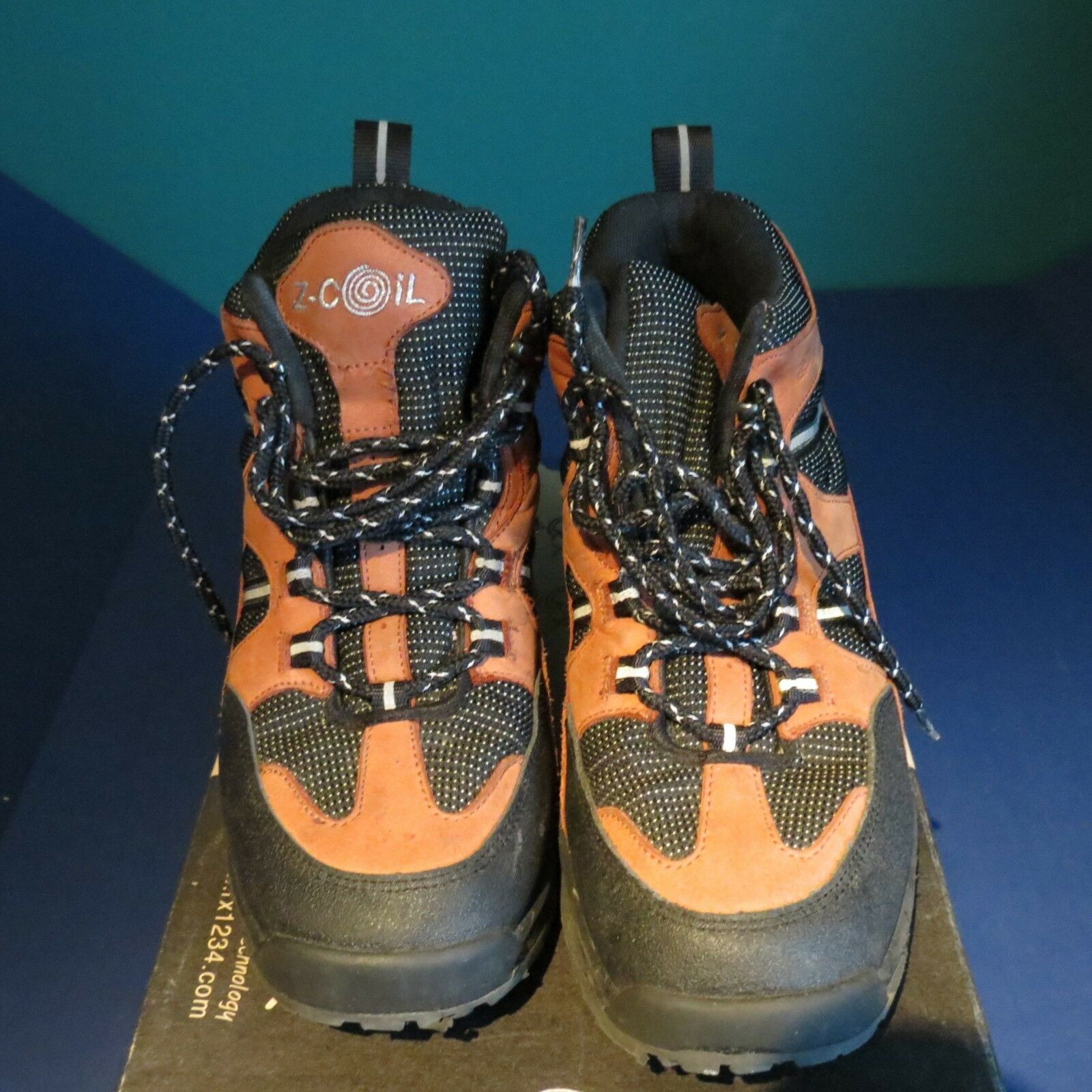 EUC Z-coil pain relief footwear damen 10 salmon salmon 10 Farbe hiker used 3 weeks 10207c