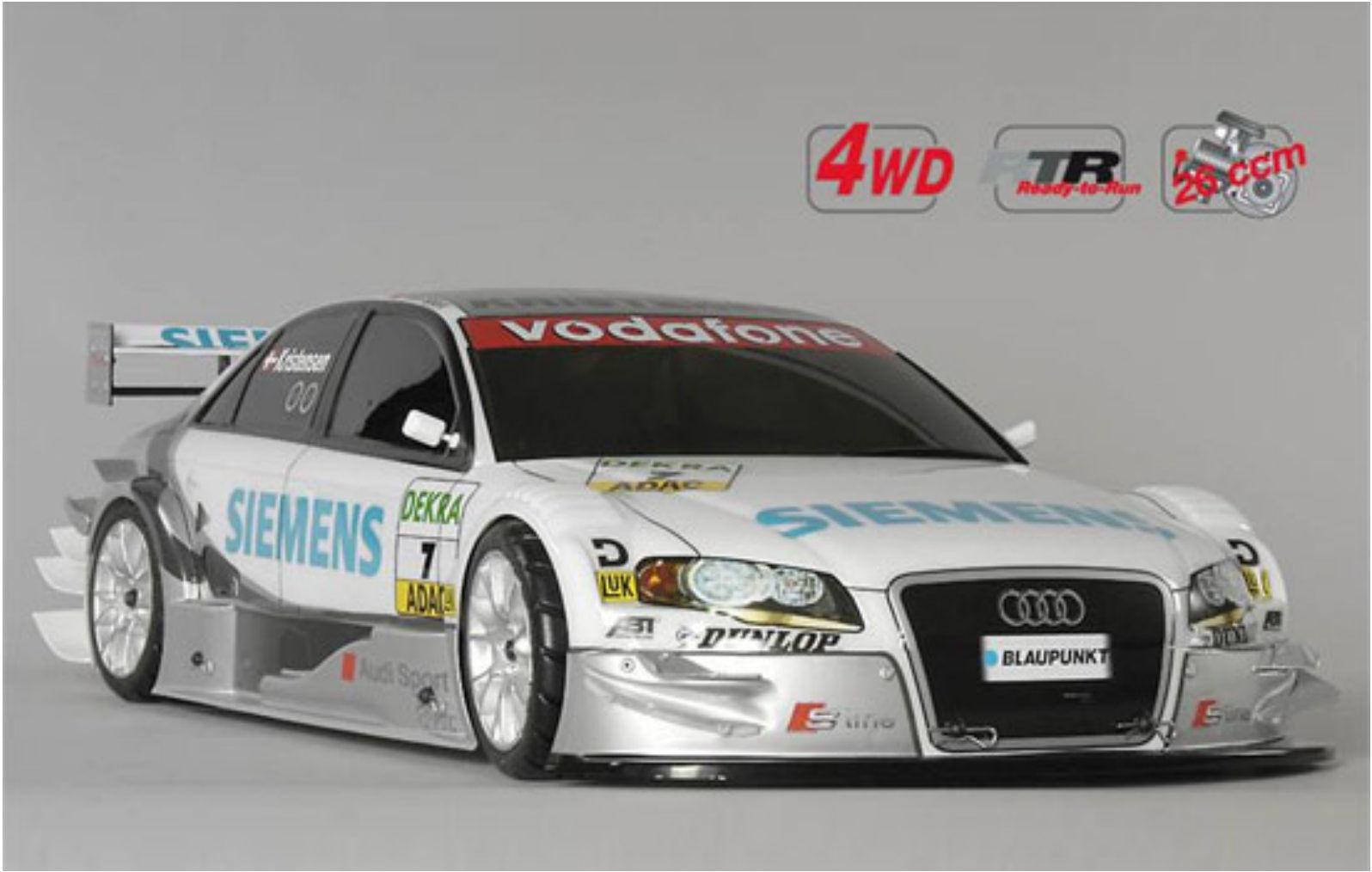 FG modellolsport   154148r RTR 4wd  530 chassis Siemens Audi Laccato 26 CC  nuovi prodotti novità