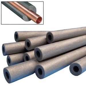 10x 1m 15x9mm climaflex foam pipe insulation lagging wrap roll