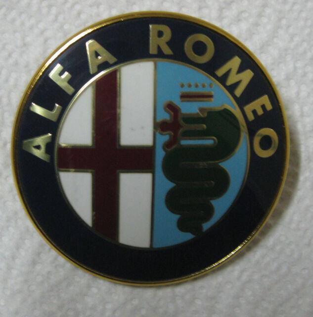 Alfa Romeo Milano Emblem 75mm Nos Ricambi Originali Ebay