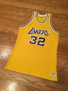 8fa39b558 Image is loading Rare-Vintage-80s-Los-Angeles-Lakers-Magic-Johnson-