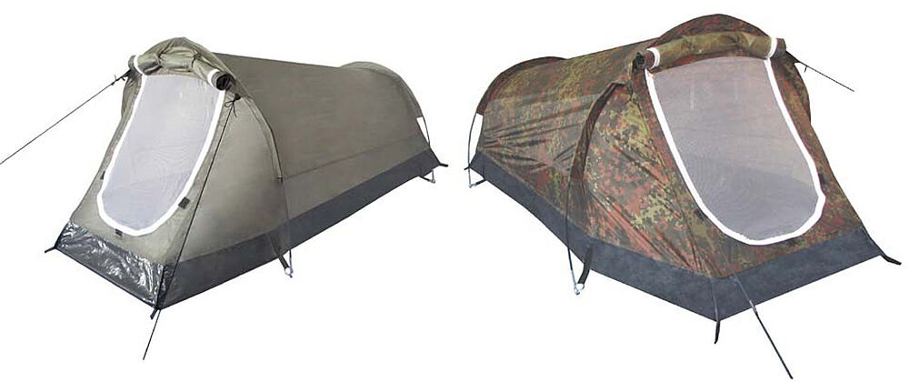 MFH Tenda a tunnel tenda ad alta Pietra Tenda da campeggio 2 persone 220x130x100cm