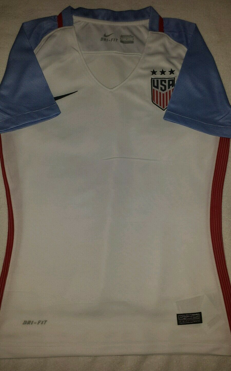 USMNT 2016 USA donna STADIUM HOME SOCCER JERSEY