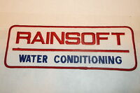 Rainsoft Water Conditioning Large Company Sew On Name Patch 3 X 8