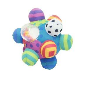 New Free Shipping Sassy Developmental Bumpy Ball