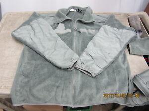 Militaire Veste Polaire Polartec Peckam usa genuine Small Regular