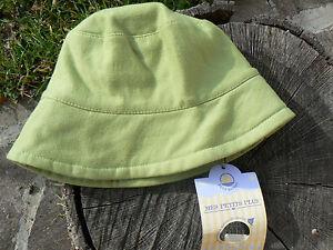 NUOVO-Petit-Bateau-cappello-bimbi-verde-taglia-51-4anni