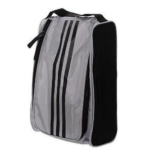 d6a249903c ADIDAS 3-Stripe Sports Shoes Bag for Tennis Football Golf Gym Gray ...