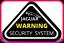 2 PAIRS OF ORIGINAL 80s 90s JAGUAR XJS XJ6 XJ12 SECURITY WINDOW STICKERS