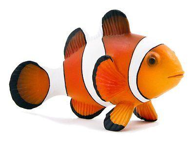 Candid Clown Fish Replica 387090 ~ Usa W Mojo Items Toys & Hobbies