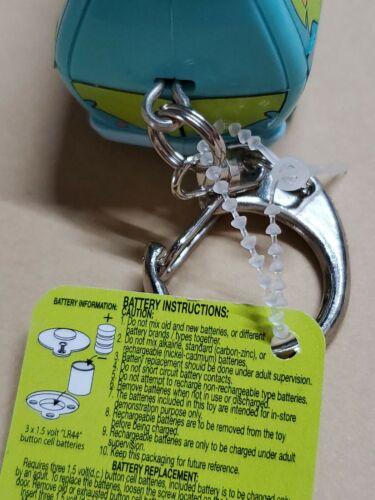 SCOOBY-DOO Mystery Machie Key Chain FLASHLIGHT 2000  freesp
