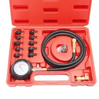 Auto Benzin Druckprüfer Öldrucktester Druckmesser Einspritzanlage Werkzeug 10Bar