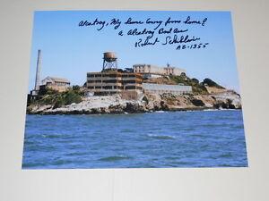 Alcatraz Inmate ROBERT SCHIBLINE Signed 8x10 Photo AUTOGRAPH 1C