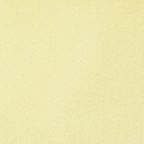 Créatif Tissu Feutre unicolore crème 180 cm largeur 2 mm épaisseur