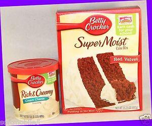 Pillsbury Red Velvet Cake