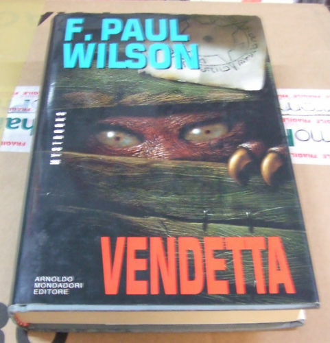 Vendetta . 1° edizione 1993 . Wilson