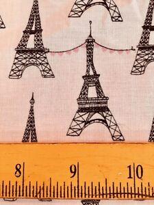 Michael Miller Fabrics Mon Amour Eiffel Towers Cafes Monuments Tres Chic