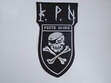PESTE NOIRE BLACK METAL EMBROIDERED BACK PATCH