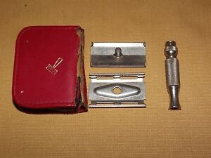 VINTAGE-GILLETTE-RAZOR-IN-AUSTRIA-TRAVEL-CASE