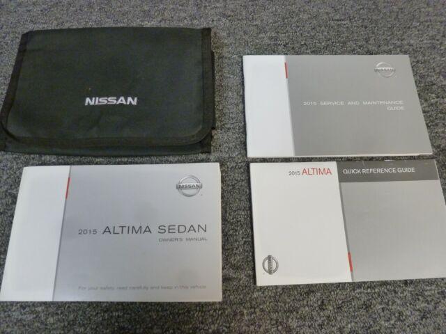 2013 Nissan Altima Sedan Owner U0026 39 S Manual Booklet For Manual Guide