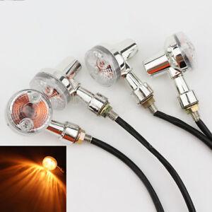 4 X LED Turn Signal Brake Light For Honda VTX 1300 1800 TYPE C R S N F T RETRO