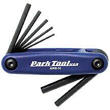 Park Tool AWS-10 Métrique Pliant Hex Wrench Set