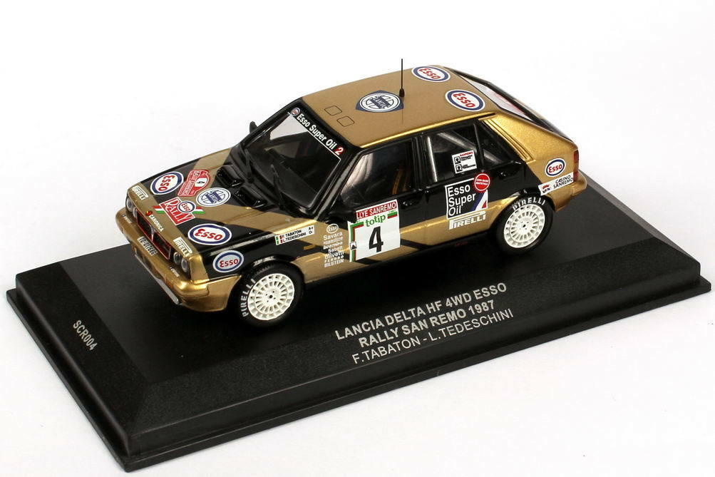 1:43 Ixo Lancia Delta HF Integrale 16v Plain body versión adicional piezas New