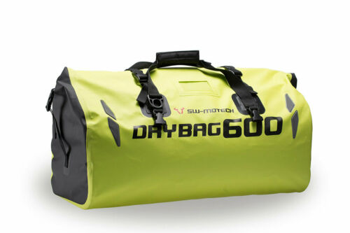 SW Motech Drybag 600 Motorcycle Tailbag Large 60L Waterproof Yellow