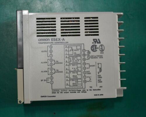OMRON  E5EX-A  TEMPERATURE CONTROLLER