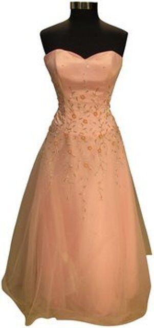 Sparkle Prom 1087 prom, quincieara, evening dress - Größe 14 - Rosa (prom-5)