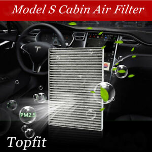 Image Is Loading Topfit Tesla Model S Cabin Air Filter With