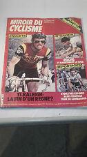 Magazine Miroir du cyclisme n°309 novembre 1981, poster Stephen Roche. 05A110