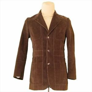 5718aebb0d6 Image is loading Dolce-amp-Gabbana-Coats-Jackets-Brown-Mens-Authentic-