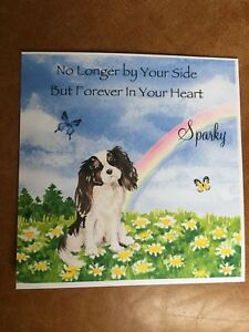 "Blank 6x6/"" Dog Card Bichon Frise//Bloodhound//Border Collie"