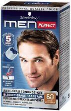 Schwarzkopf Men Perfect - For Men - Gentle Hair Color Gel - Medium Brown 60