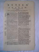 Théodore de BRY -  [Petits Voyages] - Voyage de JOSEPH,  DEN GEBOORNEN INDIAAN