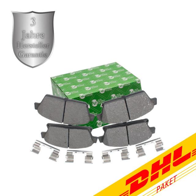 Bremsbelagsatz, Scheibenbremse, Vorderachse für Chevrolet, Opel, BB08078