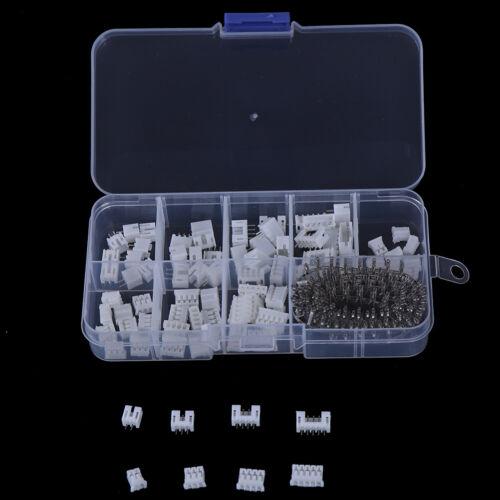230pcs PH2.0 2p 3p 4 pin 2.0mm pitch terminal kit pin header JST conneRKCA