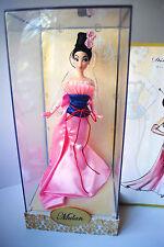 Disney Store Designer Princess Doll Mulan MIB #5582/6000