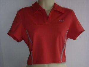 BNWT FILA tennis Femmes Polo shirts/débardeurs/maillots avec lycra £ £ £ tranchée  </span>